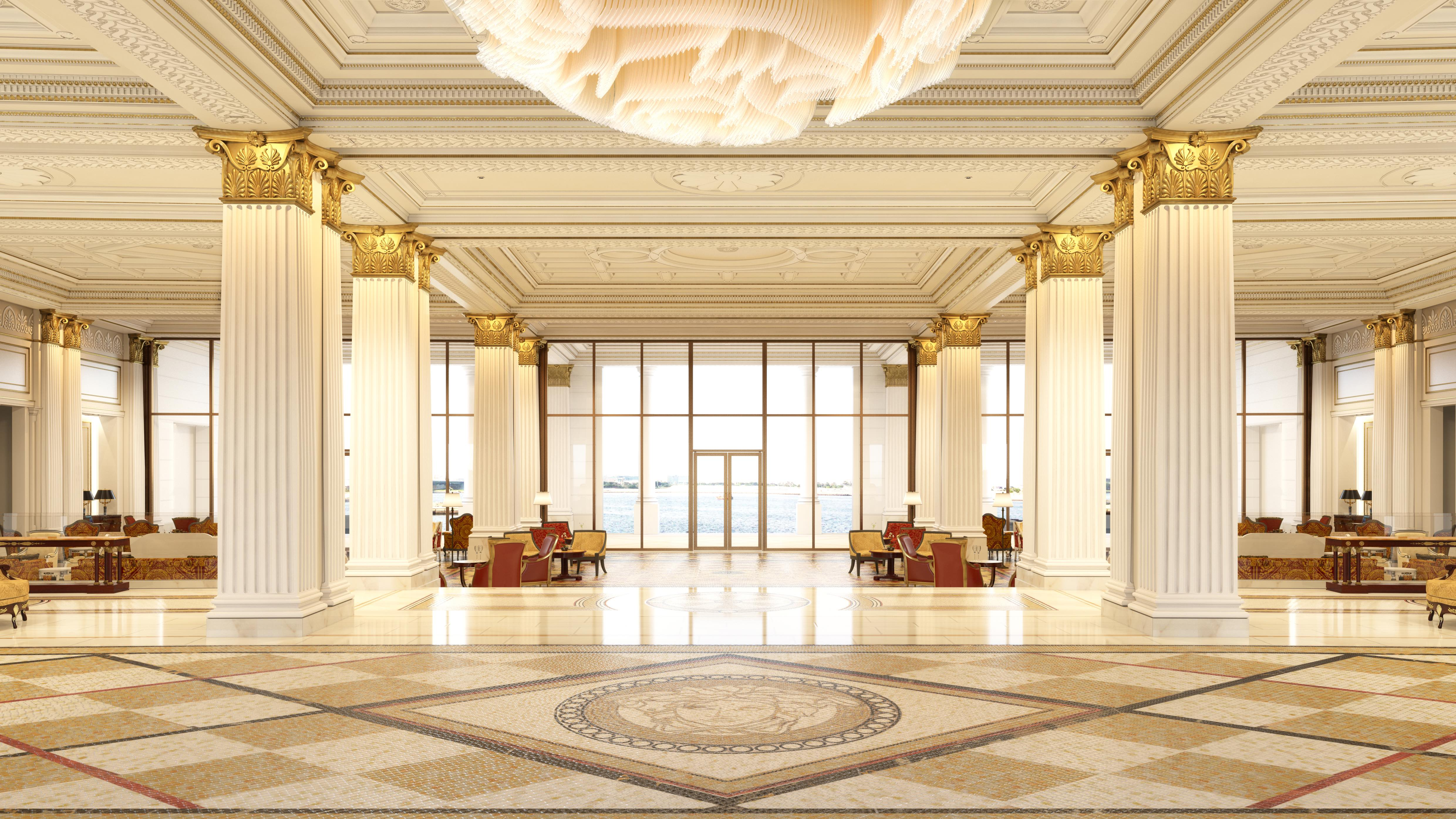Palazzo versace dubai set to open invoyage for Luxury home collection